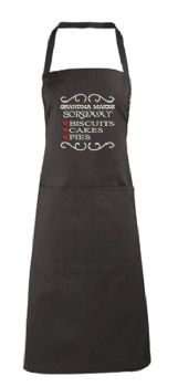 Grandma Embroidered Apron